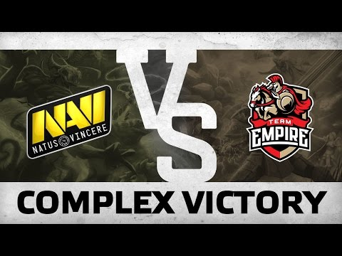 WATCH FIRST: COMPLEX VICTORY - NAVI s Empire @ The Kiev Major CIS Quals