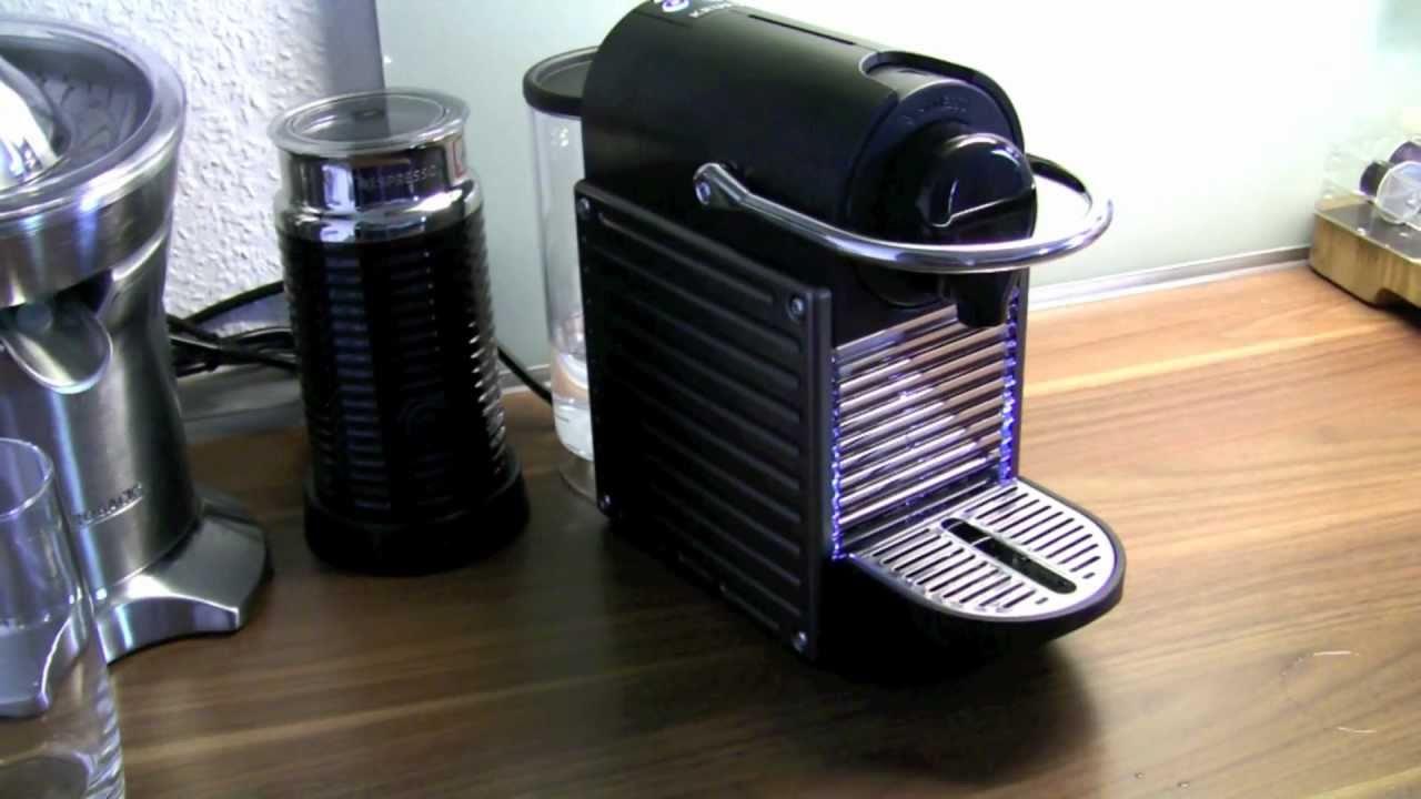 Krups Yy1201Fd Pixie nespresso pixie madekrups personal review - youtube