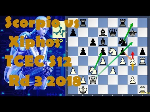 Xiphos A brand New Chess Engine With Plenty of Surprises. TCEC S12