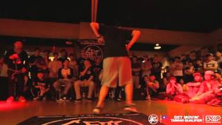 Popping Final 志元 VS Boogie Tie | 20170518 Get Moving 2014 Taiwan Qualifier