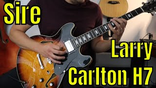 Sire Larry Carlton H7 Review, Demo & Comparison with Epiphone