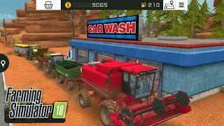 Fs18 farming simulator 18 - toplu oto yıkama / bulk car wash