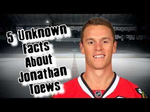 Jonathan Toews/5 Facts You Never Knew