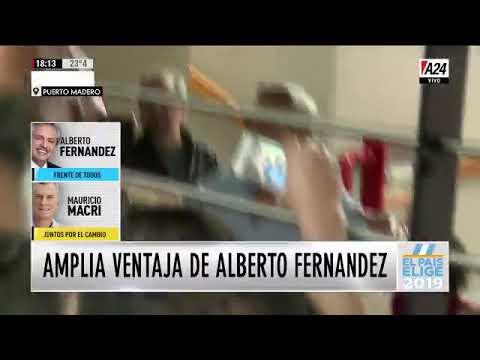Es un gran día, la Argentina va a andar bien, celebró Alberto Fernández