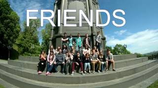"""Заставка из сериала """"FRIENDS"""" 11-A"""