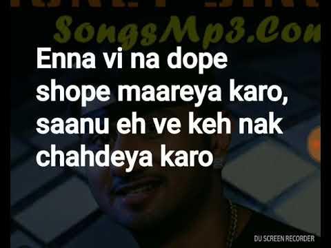 Dope Shope - Yo Yo Honey Singh