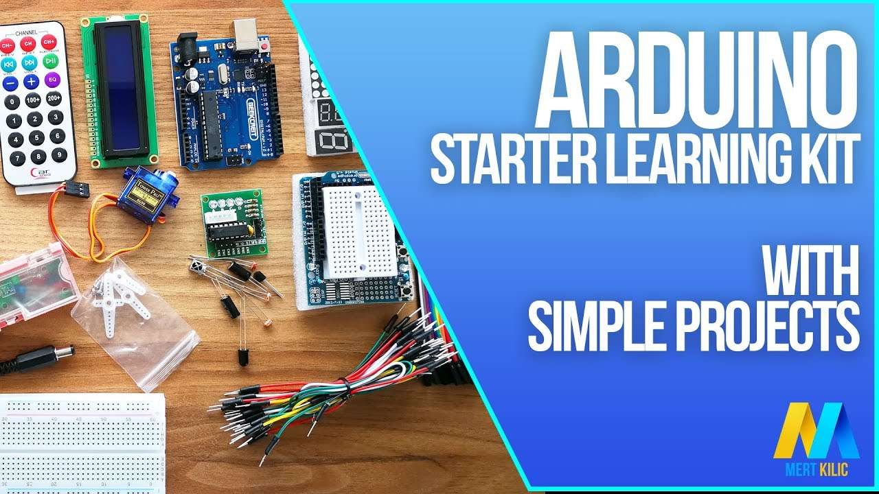 Arduino Starter Learning Kit with Simple Arduino Projects
