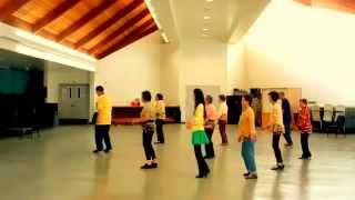 18 Yellow Roses  -  Line Dance (Walk Through) By Marie Sorensen Sunshine Cowgirl