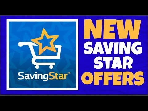 New Saving Star Offers August 26th 2018