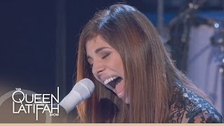 Christina Perri Performs