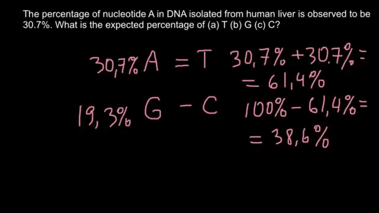 if 25 of dna is adenine what percent is cytosine