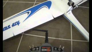 AXN Floater Jet / Clouds Fly flaperons with DX6i