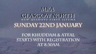 Glasgow NORTH Ijtema promo 2012