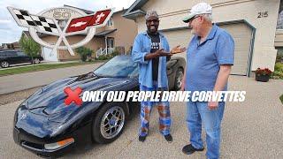 How to drive the Corvette C5 350 HP Muscle Car: Wilbur Sargunaraj