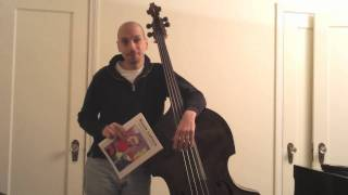 Playing Scott LaFaro's Bass- Phi Palombi in the Studio and at Home