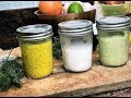 HEALTHY DIY SALAD DRESSINGS - Quick and Easy Homemade recipes