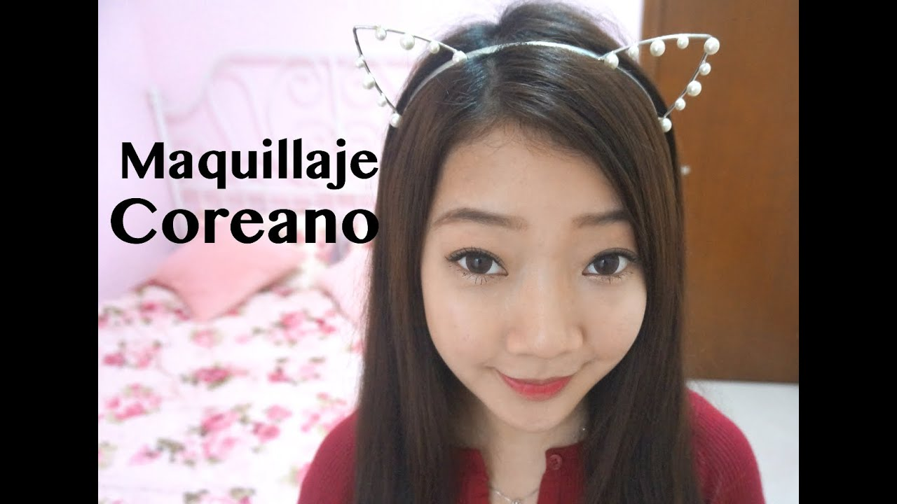 Tutorial de maquillaje Coreano!  YouTube