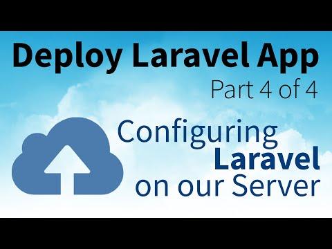 Configuring Laravel on our Server for Deploying a Laravel 5 App