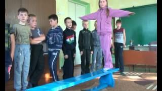 Урок ЛФК в Волновахской ОШ№3