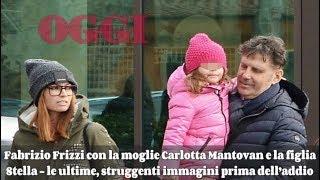 Fabrizio Frizzi con Carlotta e la figlia Stella - le ultime, struggenti immagini prima dell'addio