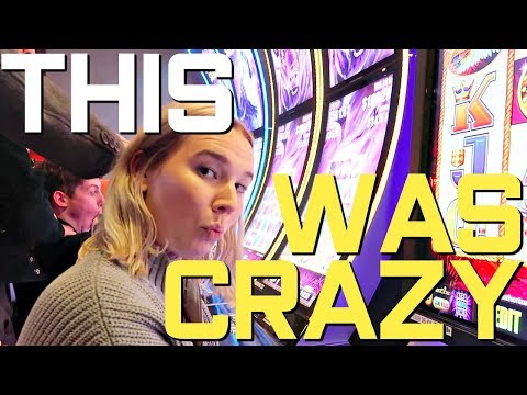 GAMBLING AT THE CASINO! *ABSURD* | Vlogmas Day 19
