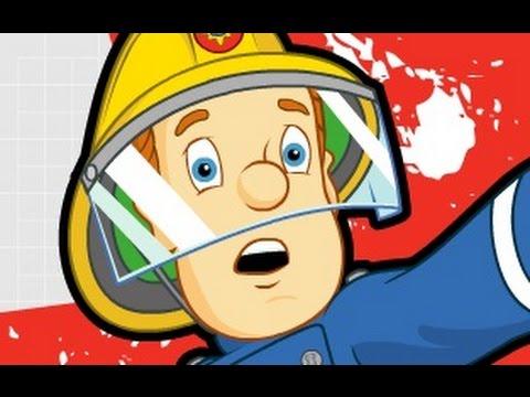 كرتون سامي رجل الاطفاء