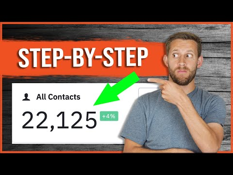 [Affiliate Marketers] Build An Email List FAST! - Step-By-Step Tutorial
