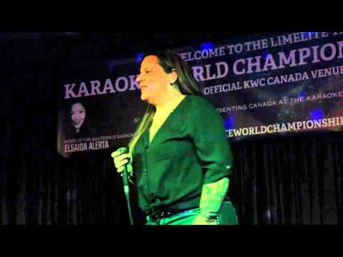 PATRICIA BERNARD: Week 1 Qualifications for the National Karaoke Championships 2016 (Winnipeg)