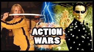NEO vs BEATRIX KIDDO (THE BRIDE) - Action Hero Wars