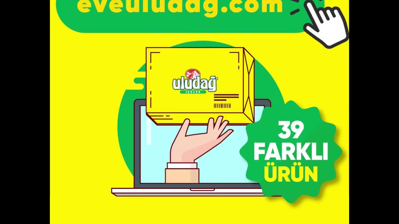 Tüm Uludağ İçecek ürünleri eveuludag.com'da.