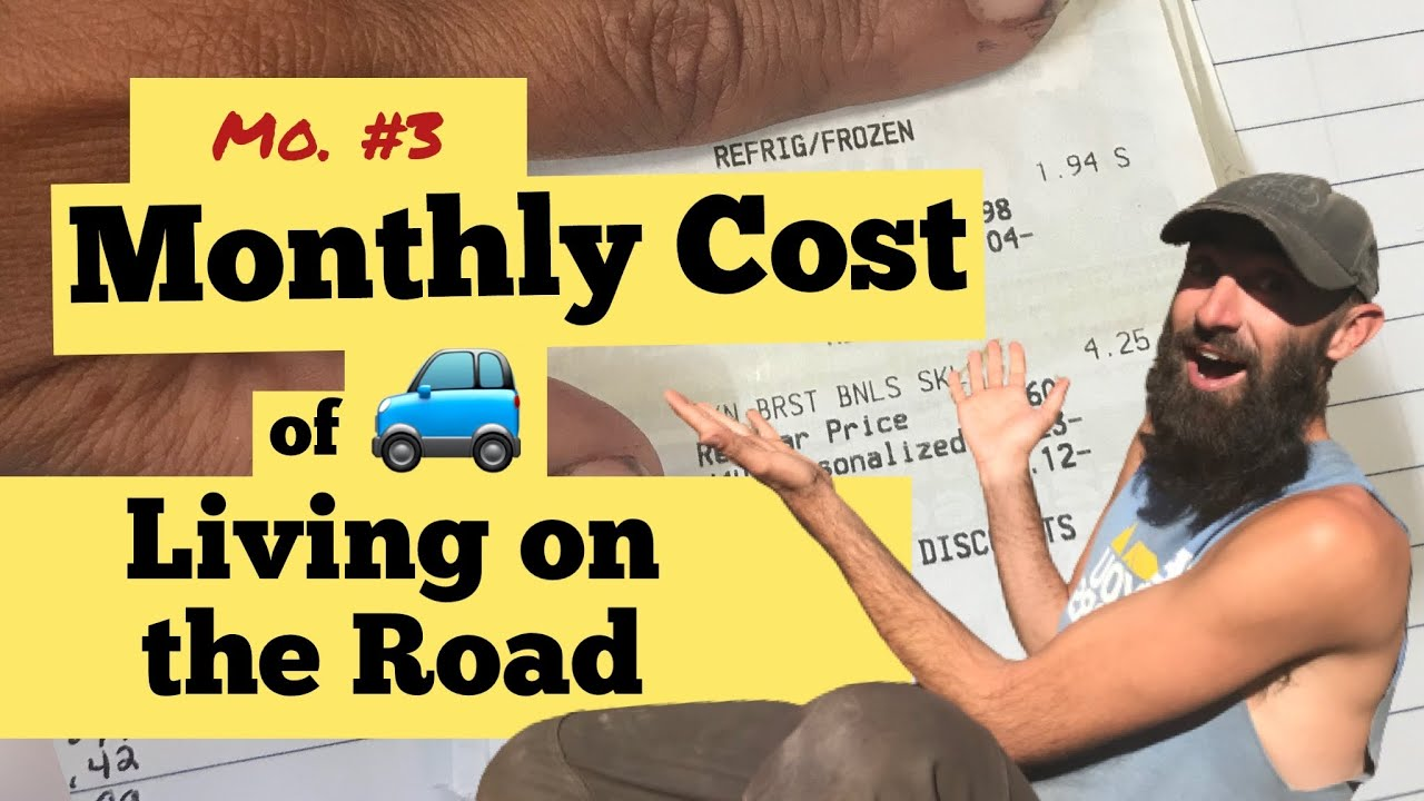 Download Monthly Nomad Budget Report, Month #3, Cheap Nomad Living