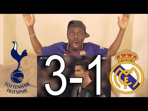 Barcelona Fan React To ● Tottenham vs Real Madrid 3-1