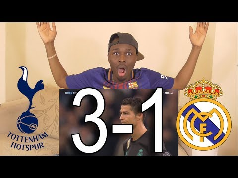 Barcelona Fan React To ● Tottenham vs Real Madrid 3-1