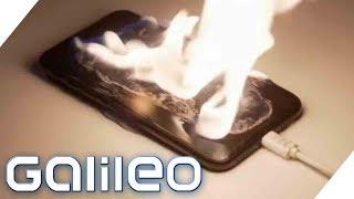 Smartphone brennt - Was tun? Can you survive Alltag | Galileo | ProSieben