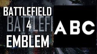 ساحة المعركة 4 / BF4 : A - Z الحروف التعليمي