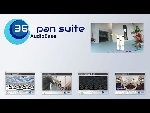 Audio Ease 360pan suite, full control over your spatial (ambisonics