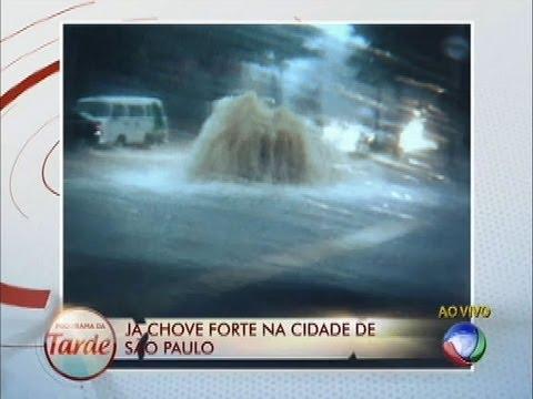 Chuva Forte Provoca Alagamentos Em São Paulo