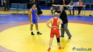 Kristjan Palusalu mälestusvõistlused 2013 120kg Semi-final Ardo Arusaar vs Maxim Safaryan