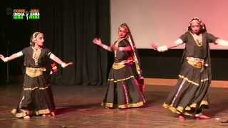 "Dance Performance: ""Rajasthani Folk Dance"" by students of Suncity World School"