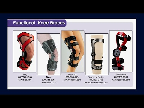 Bracing for Acute Injury, Functional Activity and Osteoarthritis of the Knee