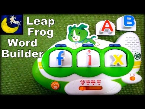 LeapFrog Word Builder, Fridge Phonics Magnetic Scout Airplane Review