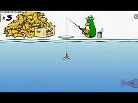 Club Penguin Catch The Big Fish