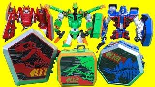 지오메카  캡틴다이노 프테라스톰 티라노투스 스테고탱크 공룡 장난감 GeoMecha Captain Dino toys