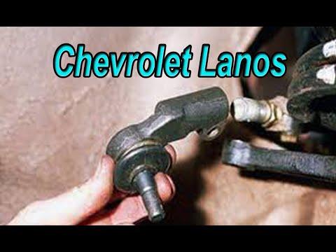 Замена рулевых наконечников Chevrolet Lanos. Ремонт авто с Алексеем. #АлексейЗахаров. #Авторемонт