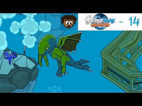 Dez Plays Scribblenauts Unlimited - 14 - Poseiden vs Cthulhu, Who Wins?!