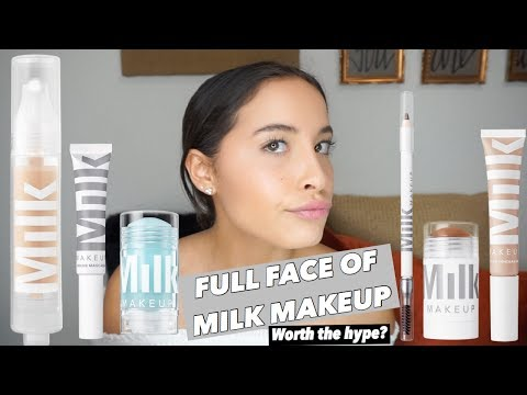 FULL FACE OF MILK MAKEUP- FIRST IMPRESSIONS