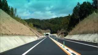 【HD】唐津千々賀山田IC→唐津IC 西九州自動車道 2012年3月開通区間