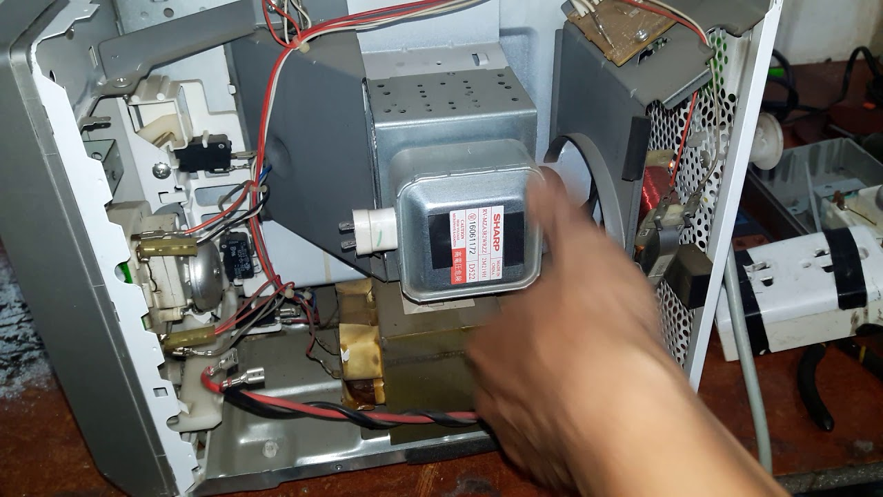 Sữa  lò vi sóng cơ sharp không nóng(repair microwave not heating)chia sẻ từ A tới Z.zalo 0909106234