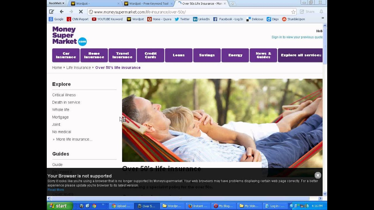 Compare Life Insurance Quotes Online Life Insurance Over 50 Without Medical Exam Quotes  Compare Now