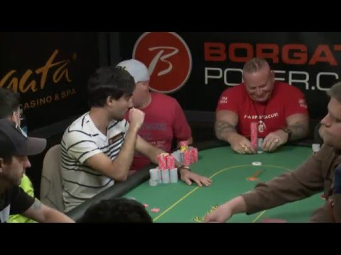 Borgata Spring Poker Open 2016: $1 Million Guaranteed Borgata Championship Final Table